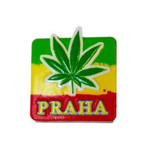 Keramický magnet Cannabis Praha
