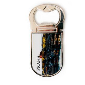 Kovový Magnet - otvírák Praha