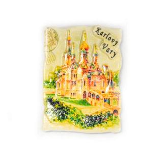 Keramický magnet Karlovy Vary
